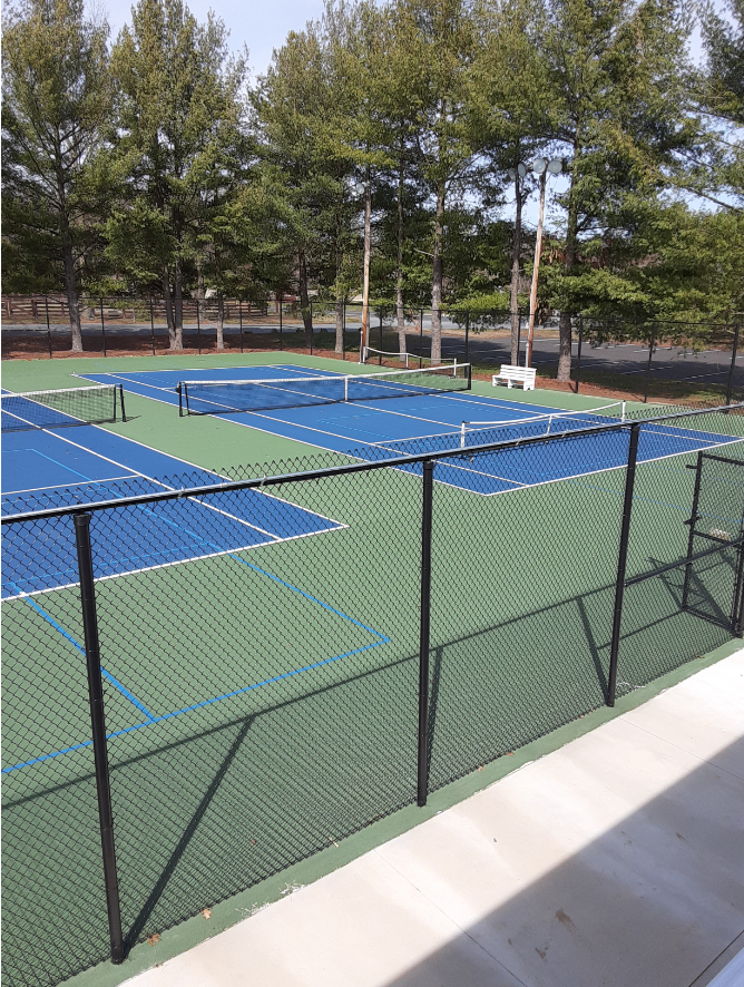 North Courts 1 & 2.